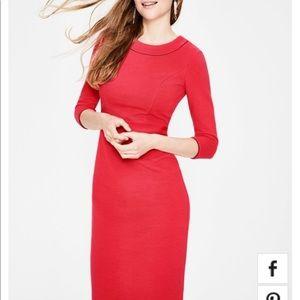 Pop Peony Boden Mia Ottoman Dress Sz 6. Brand new